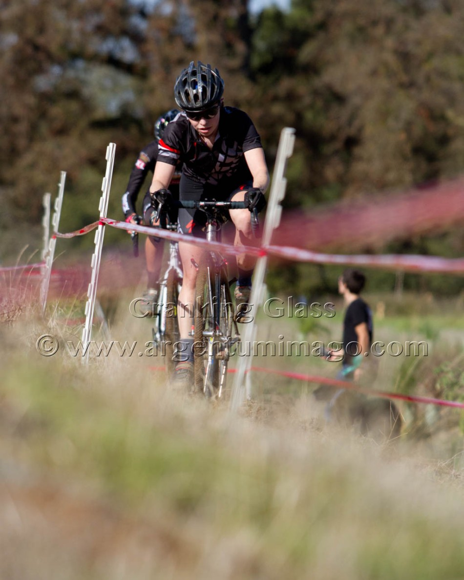 Marja-Liisa Magnuson (Kinetic Cycles) Leading at SacCX