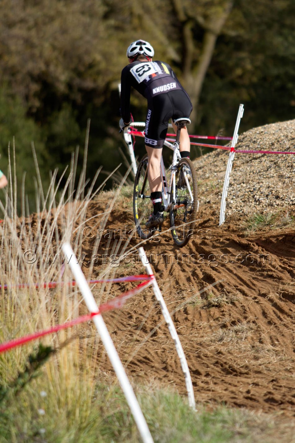 Peter Knudsen (TBB.CX) Racing in the Mud at SacCX