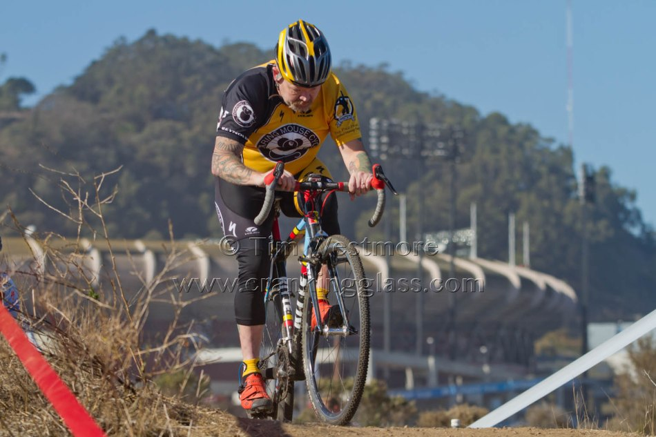 This Candlestick Park Backdrop to Dennis McGovern (Roaring Mouse) will see CXNC Racing later this Year