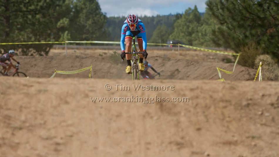 Keith Hillier Takes on the BMX Track at Truckee