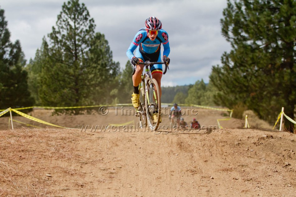 Keith Hillier (Team Rambuski Law) on the BMX Track at Truckee