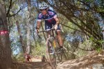 Tao Bernardi (Cal Giant) Drops through the Wooded Section at Folsom Cyclebration