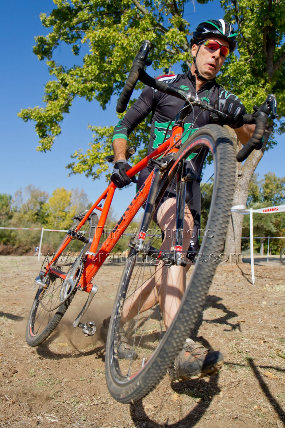 "Reese ""Rotten"" Gary (Team Revolutions) Suitcases his Bike for an El Dorado Hills' Plank Barrier"