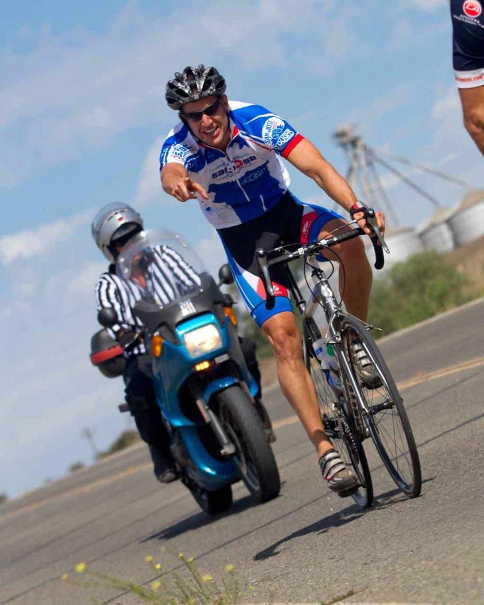 Cristablo Ducuarto at the San Ardo Road Race