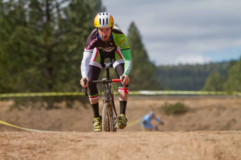 Jared Kessler on the BMX Track at Truckee Bike Park