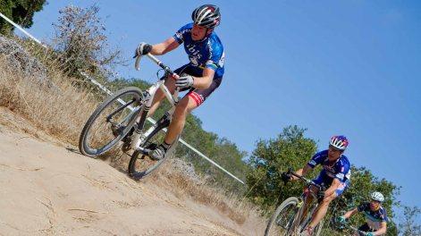 Myrah and Kramer Racing in their Championship Stripes