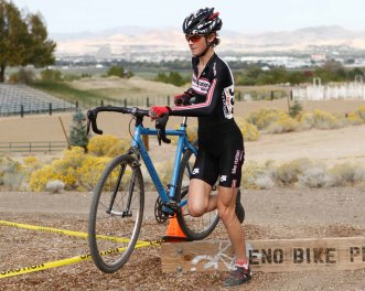 Ellen Sherrill Racing at the Hidden Valley - a Reno-Overlook