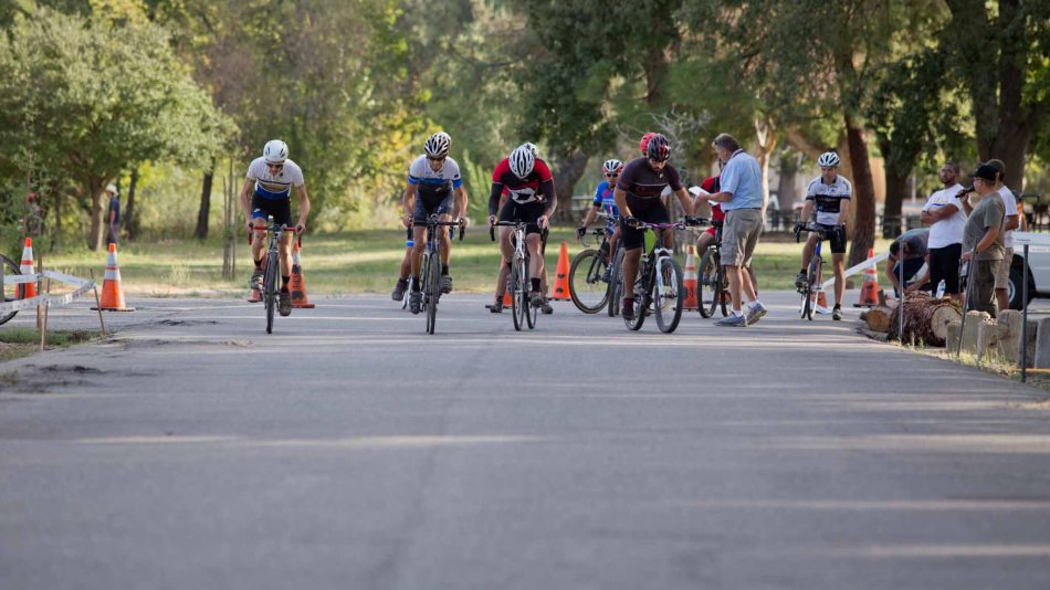 The Very First Race Start for Fresno County Cyclocross