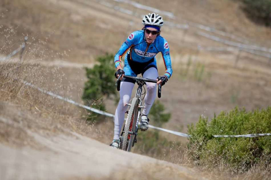 Karen Brems (Team Rambuski Law) continues to exhibit her racing prowess