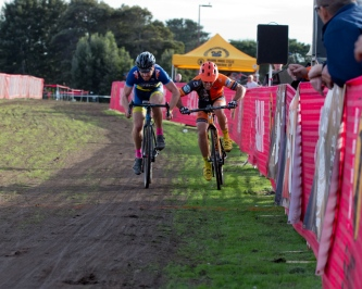 Hoeppner and Trevena Vie for Second in a Sprint-Finish