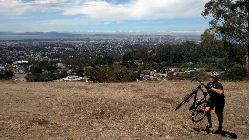 Backdrop to Joaquin Miller Park, SuperPro CX's Newest Venue - Photo Credit Murphy Mack