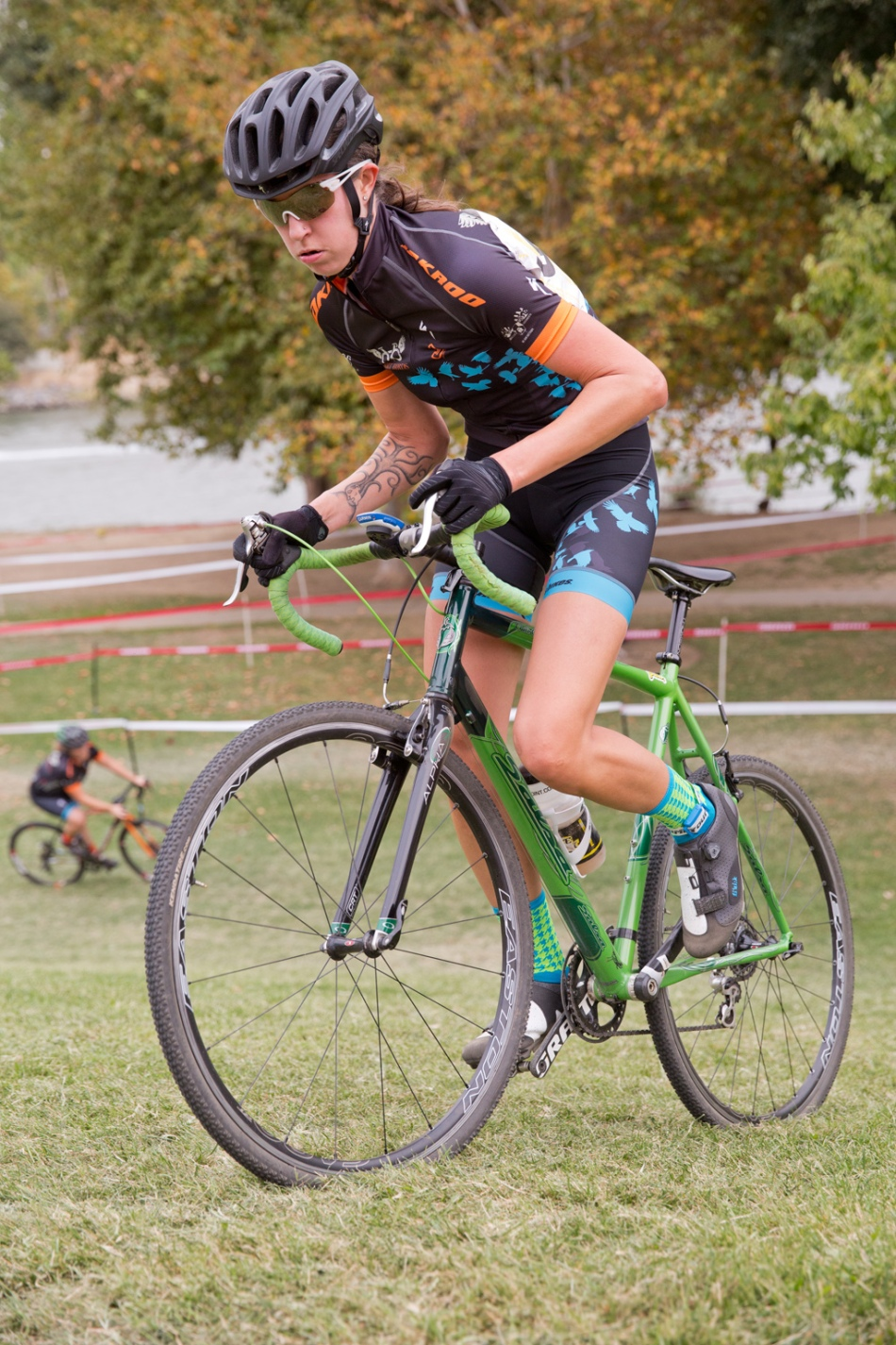 Dirt Bird's Co-Founder Audrey Biehle Striking Up Heckle Hill at WSCXGP