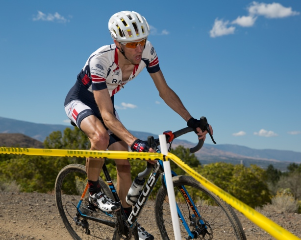 Justin Thomas (Reno Wheelmen) Kept Himself in the Hunt