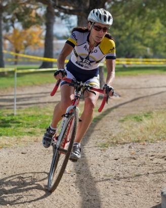 Kim Vandersyde (Reno Wheelmen) En Route to a Podium Finish