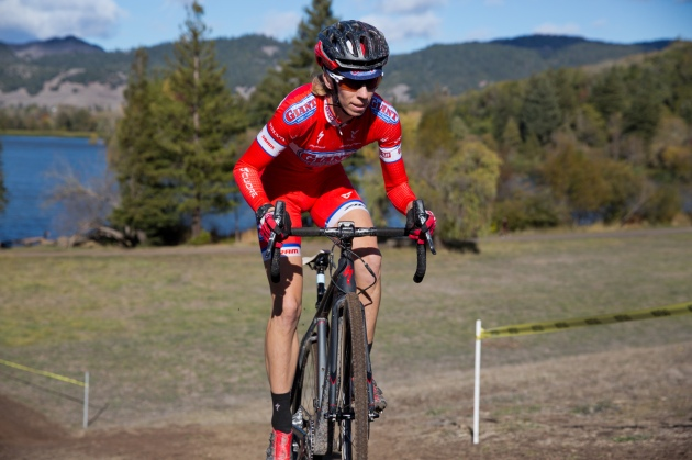 Rachel Lloyd Appeared Effortless Riding to the Top of the Dam