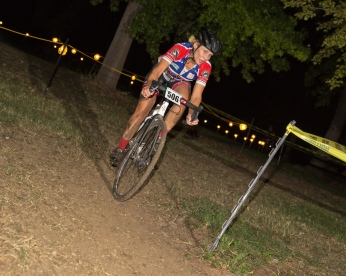 Tammy Wilson Negotiates the Vallejo Night Race