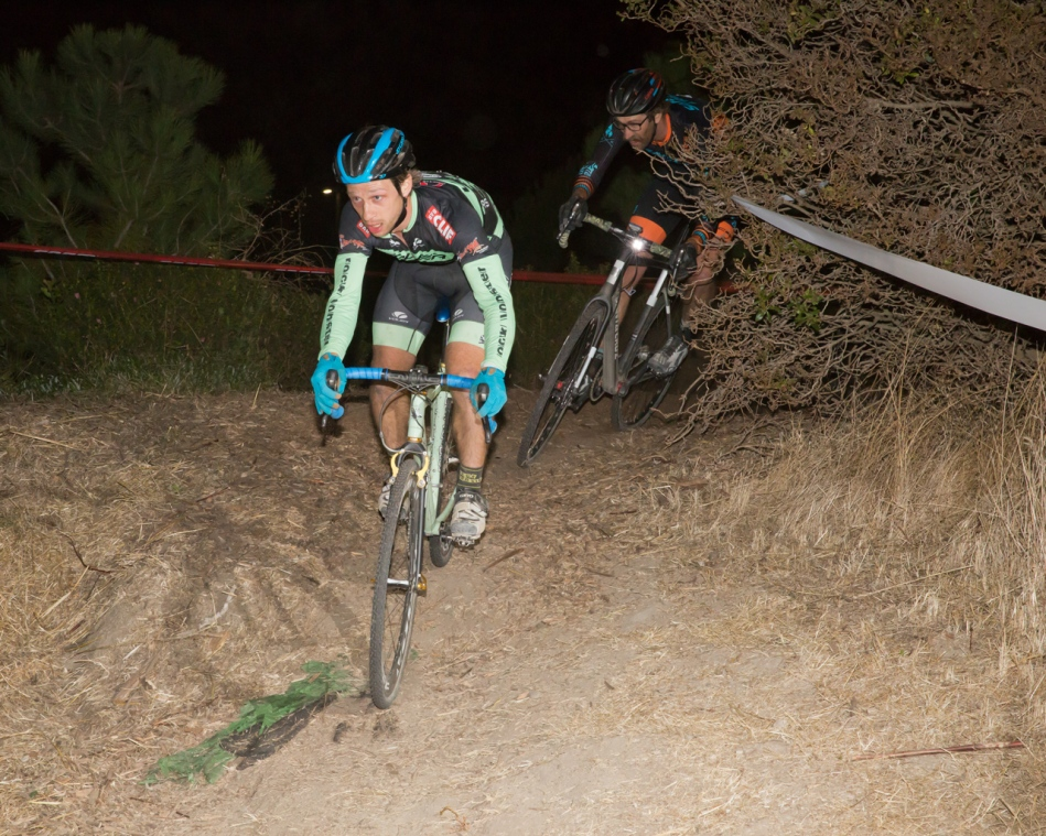 Max Judelson with a Lead and Scott Chapin in Close Quarters