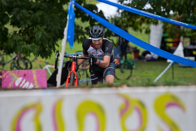 Gareth Feldstein (Real Wheels) Working Hard to Win Back-to-Back SacCX Races