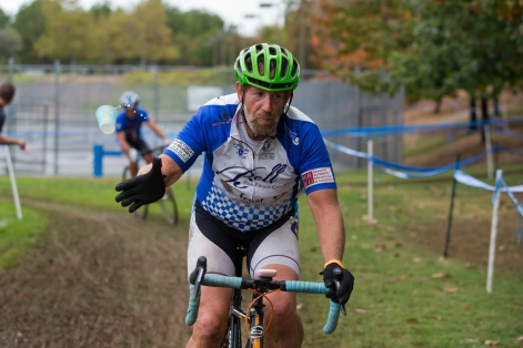 Steve Mason (Bell Real Estate Cycling) Now Getting Ready for the Plank Barrier