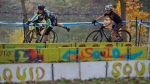 Ellen Sherrill and Julie Young Contest Women A at SacCX Miller Park